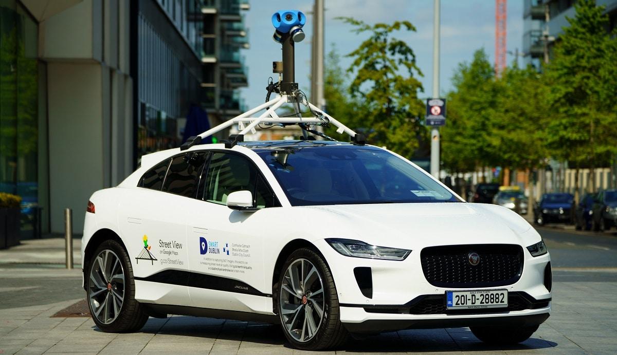 Jaguar e Google monitoreranno la qualità dell'aria di Dublino thumbnail
