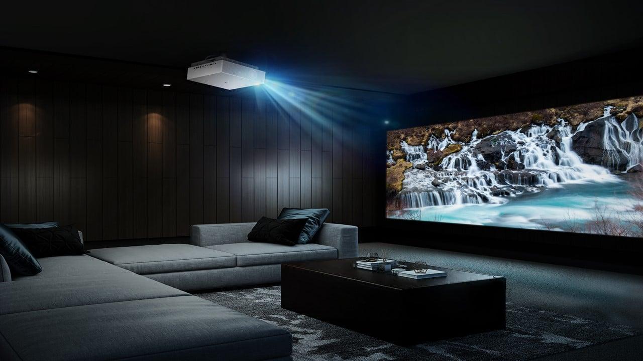 LG presenta il nuovo proiettore laser LG CineBeam 4K UHD thumbnail