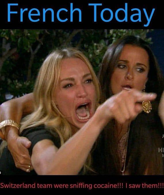 Francia-Svizzera meme