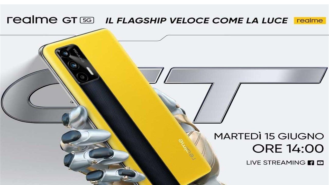 Realme GT, top di gamma del 2021, sarà annunciato il 15 Giugno thumbnail