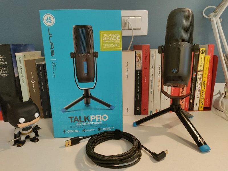 recensione jlab talk pro microfono usb-min