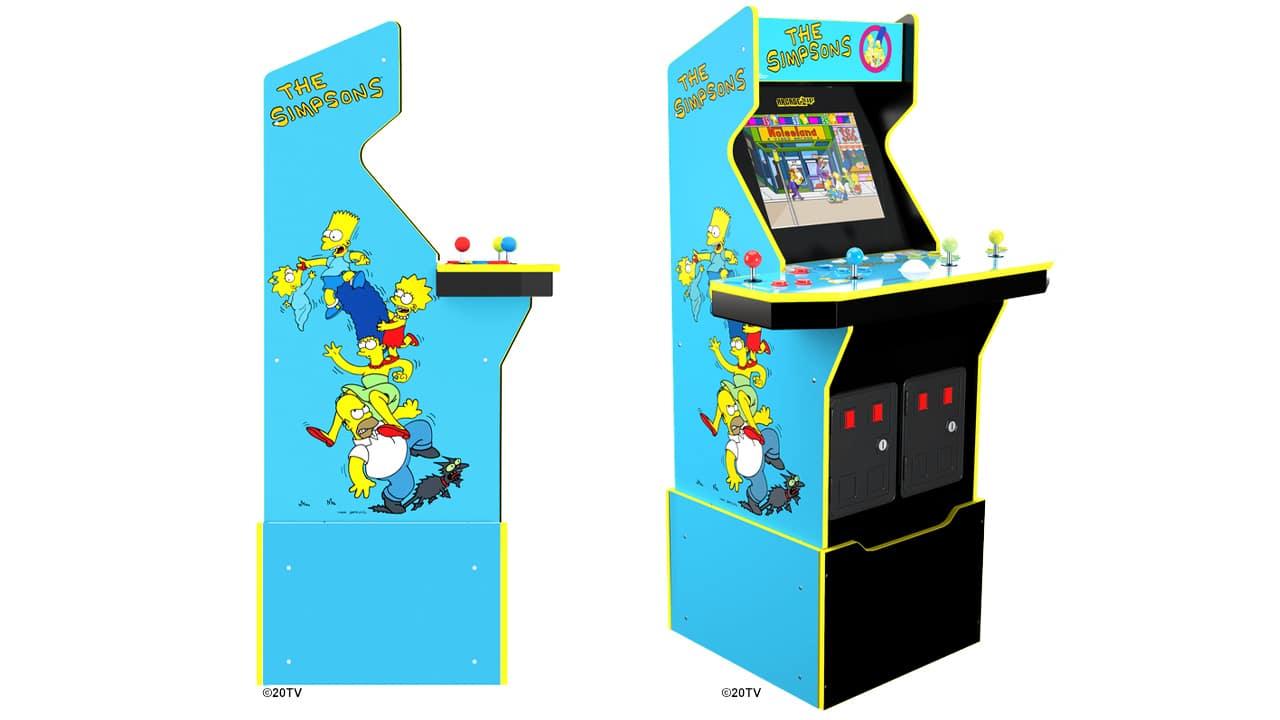 L'edizione tutta nuova del cabinet arcade The Simpsons thumbnail