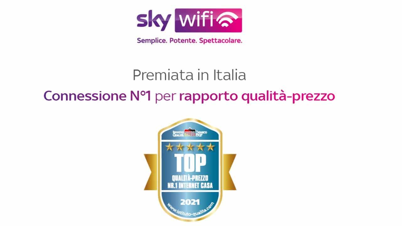 Sky Wifi aumenta la copertura ed arriva in oltre 2000 comuni italiani thumbnail