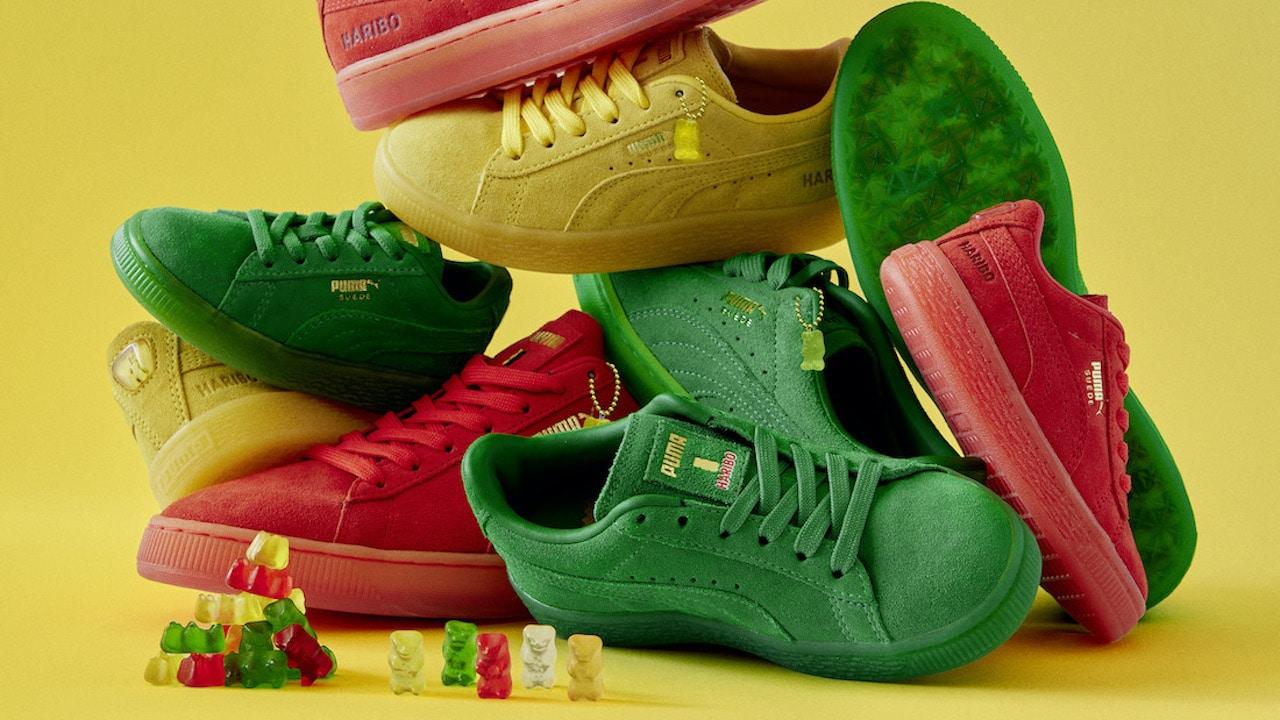 Le sneakers di Puma ispirate agli orsetti di Haribo thumbnail