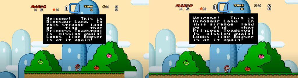 Super Mario World 16:9