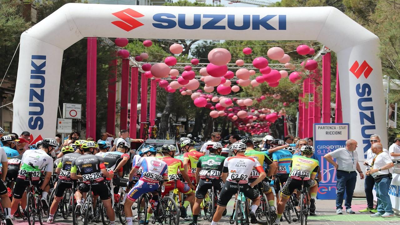 Suzuki spinge sul ciclismo, è lo sponsor ufficiale del Giro d'Italia U23 thumbnail
