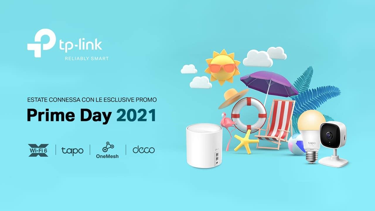 TP-Link, sconti fino al 38% per l'Amazon Prime Day thumbnail