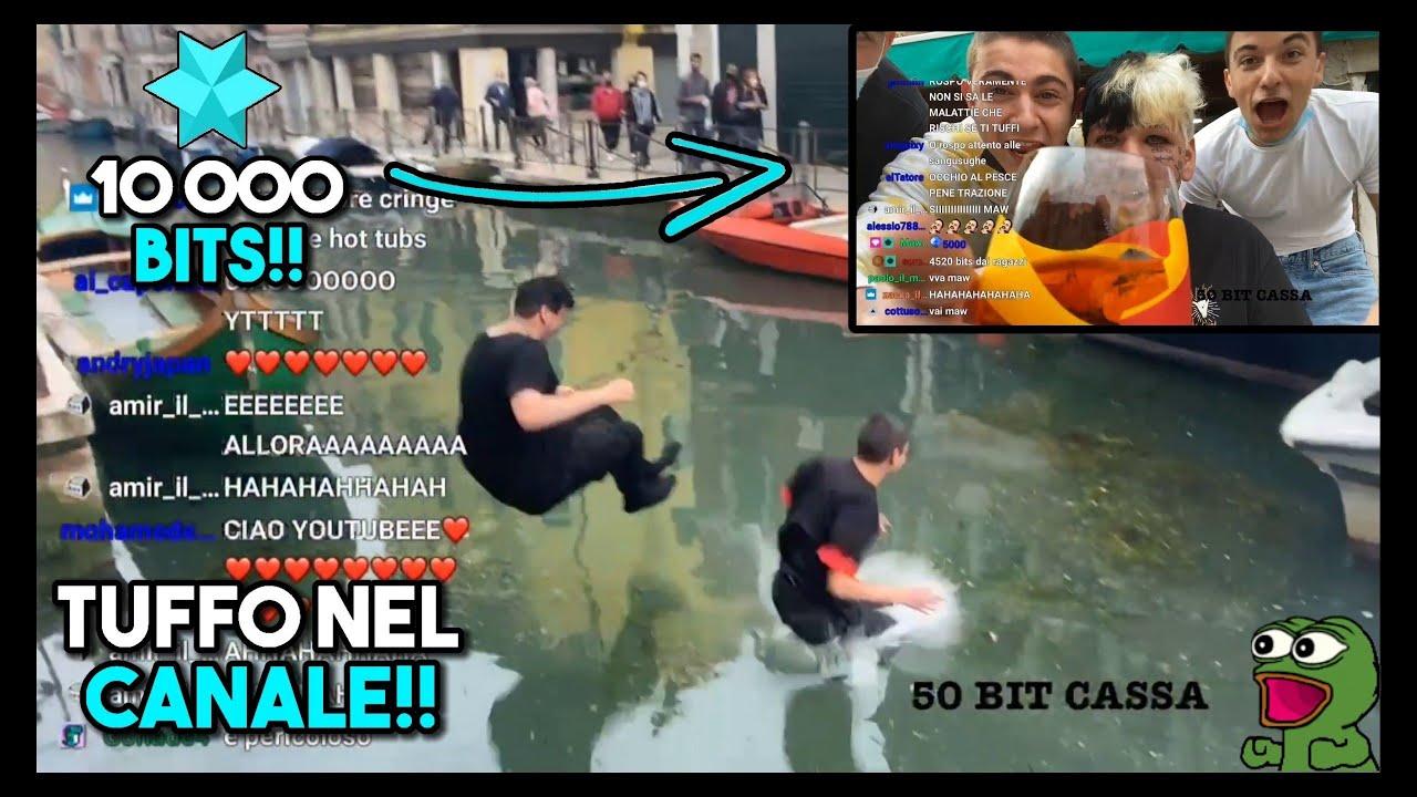 Tuffarsi nei Navigli, il nuovo trend sui social thumbnail
