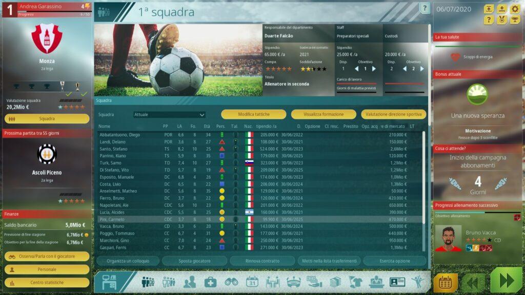 we are football recensione squadra