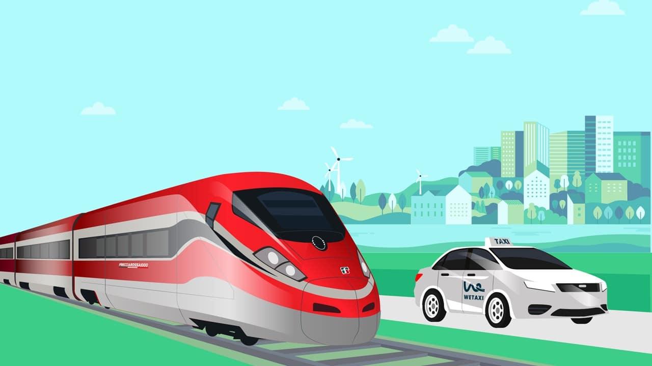 Wetaxi e Trenitalia insieme per far ripartire il turismo thumbnail
