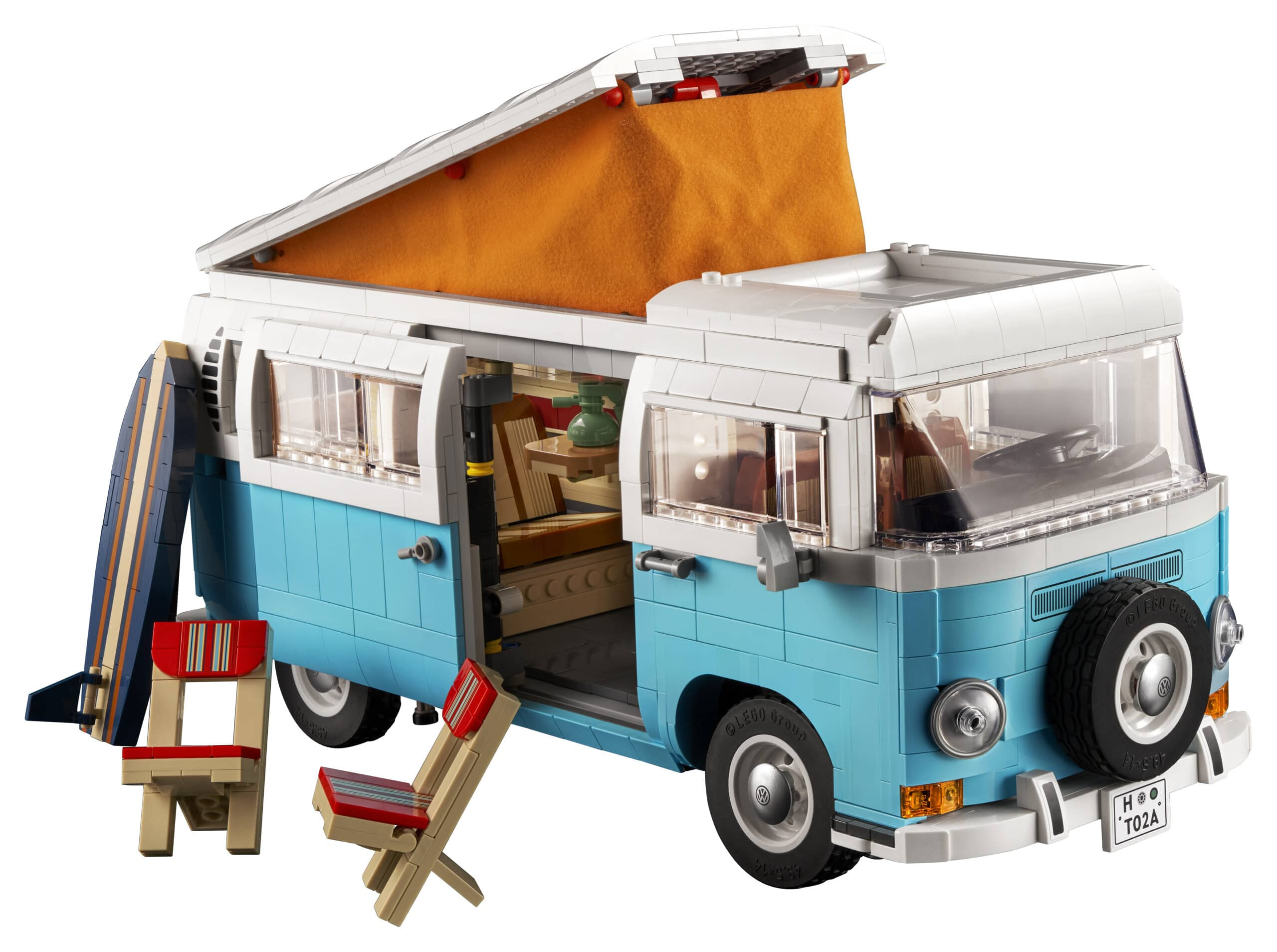 LEGO presenta il nuovo set Volkswagen T2 Camper Van thumbnail