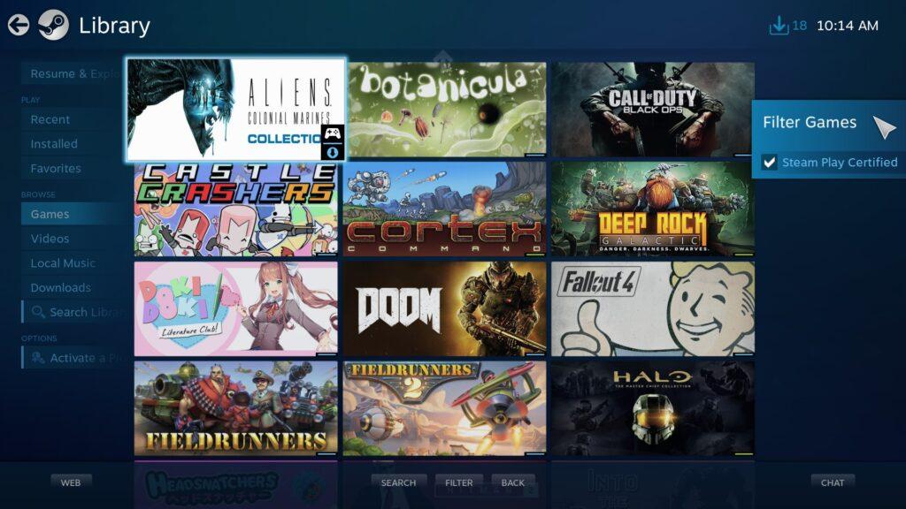 Steam: la modalità Big Picture verrà sostituita dalla UI di Steam Deck
