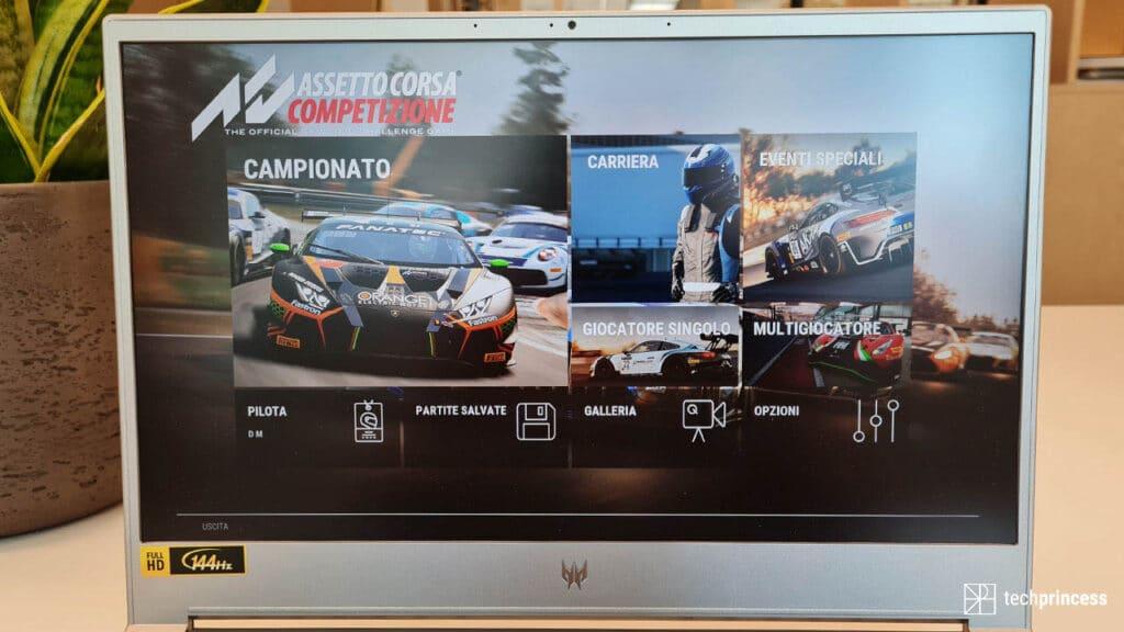 Acer Predator Triton 300 SE notebook gaming