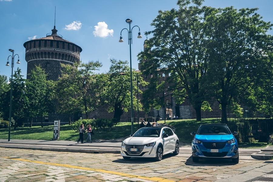 Autonomia auto elettriche estate sole