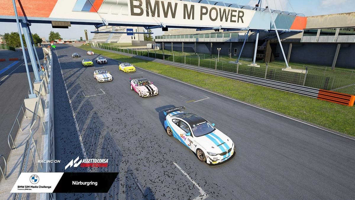 BMW SIM Media Challenge 2021: la vittoria va a Gazzetta Squadra Corse thumbnail