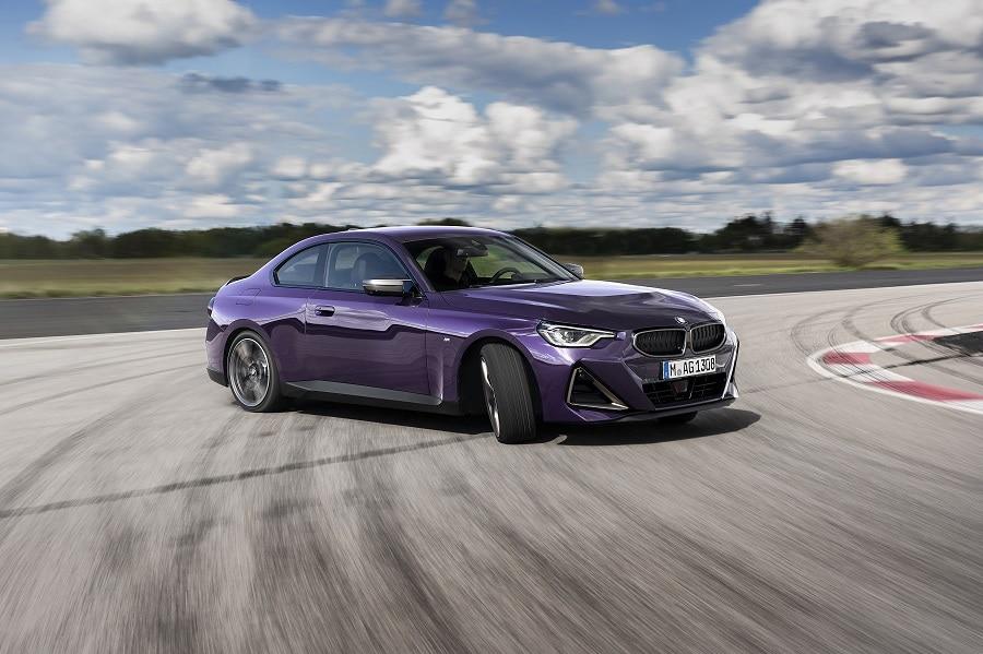 nuova BMW Serie 2 Coupé drift