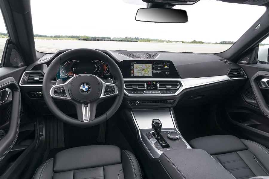 BMW Serie 2 Coupé inrterni