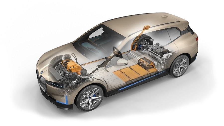 BMW ix batteria