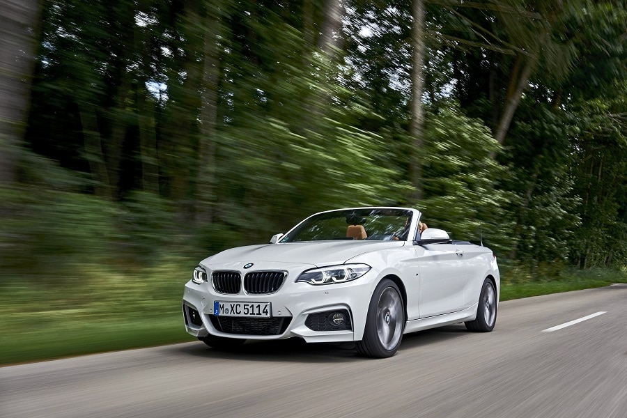 Cabrio economiche BMW Serie 2 frontale