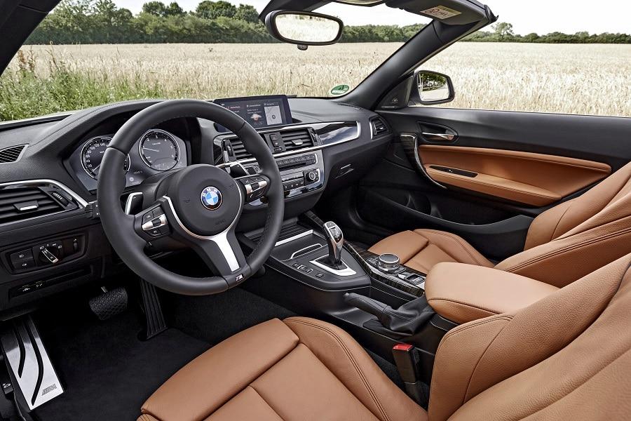 Cabrio economiche BMW Serie 2 interni
