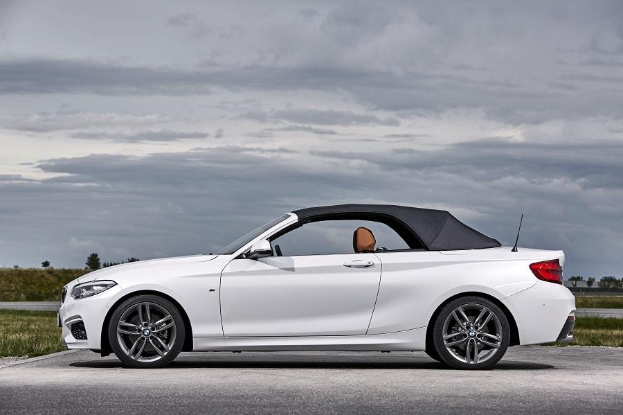 Cabrio economiche BMW Serie 2 laterale