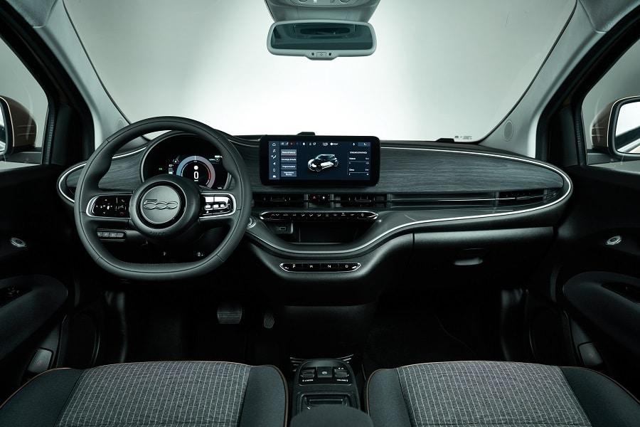 Cabrio economiche FIAT 500E interni