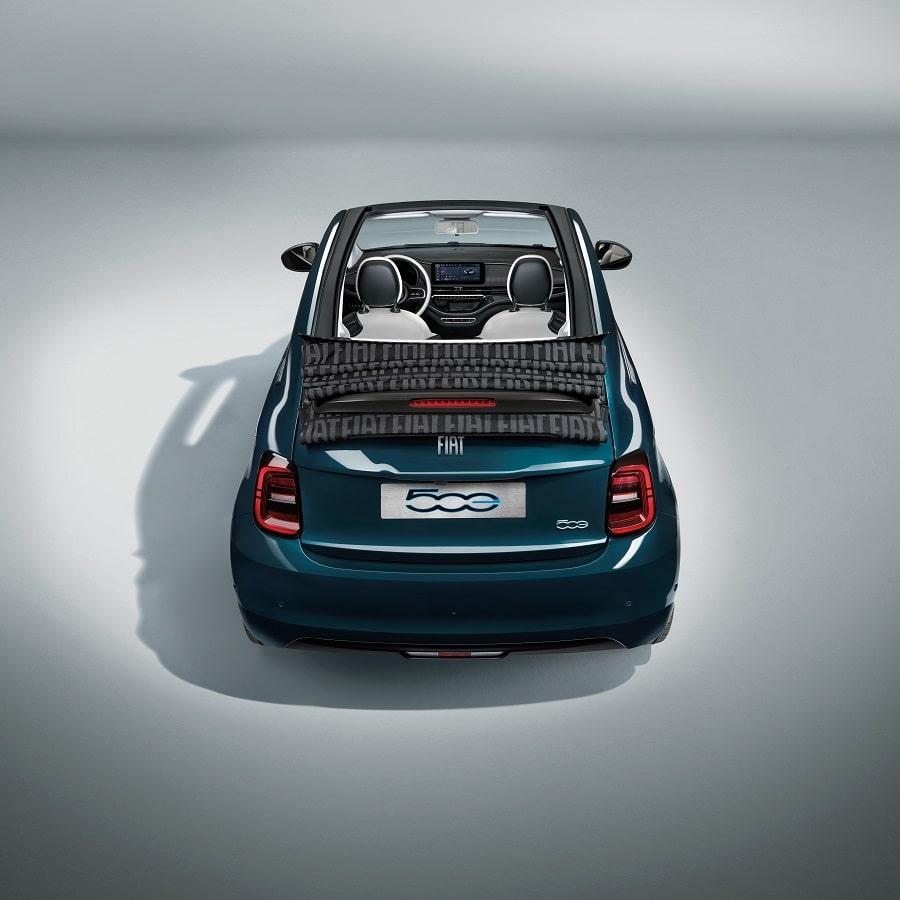 Cabrio economiche FIAT 500E quadrata