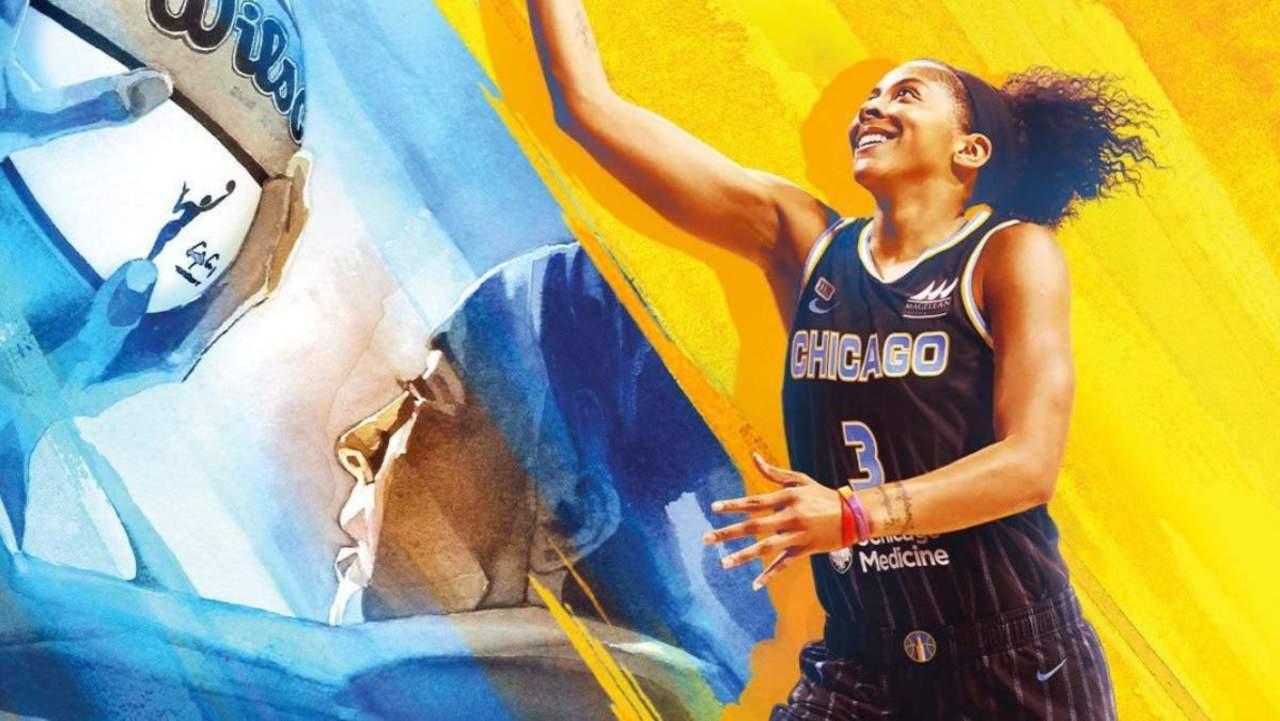 Candace Parker arriva sulla copertina di NBA 2K22 thumbnail