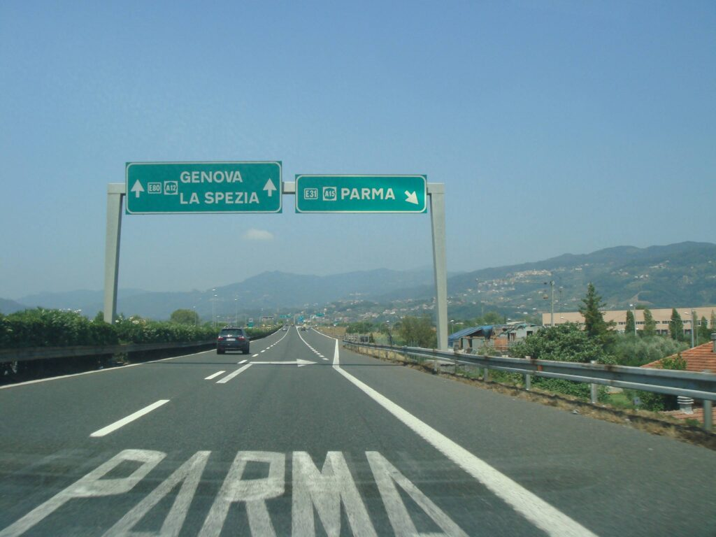 Consigli viaggio auto Parma