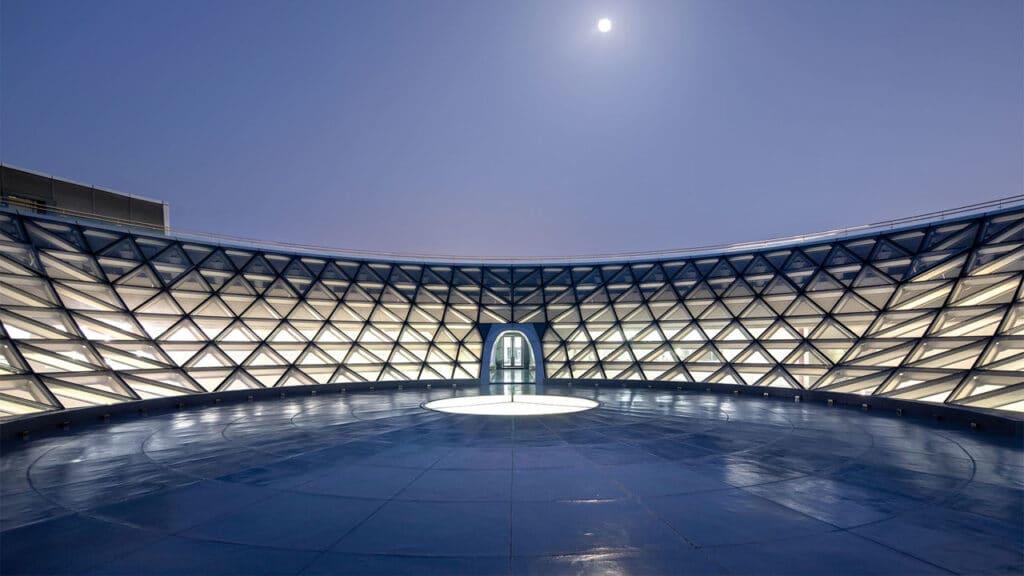 Cupola rovesciata Museo Astronomia Shanghai