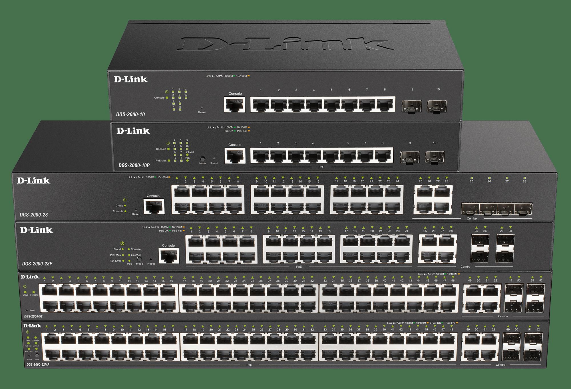 D-Link DGS-2000: network management per aziende e settore pubblico thumbnail