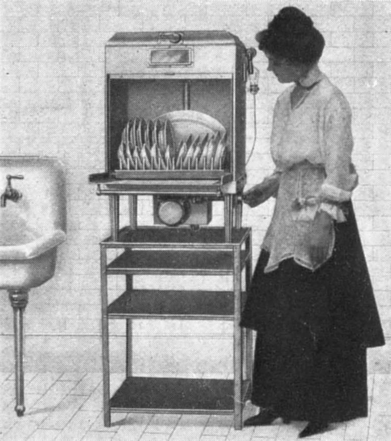 lavastoviglie elettrica 1917