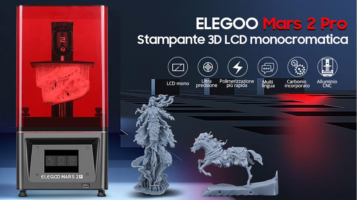 La recensione di Elegoo Mars Pro 2: è difficile stampare in 3D? thumbnail