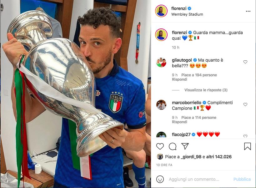 Euro 2020 social Florenzi
