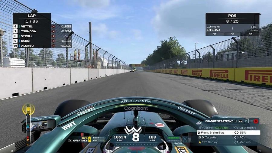 F1 2021 recensione guida