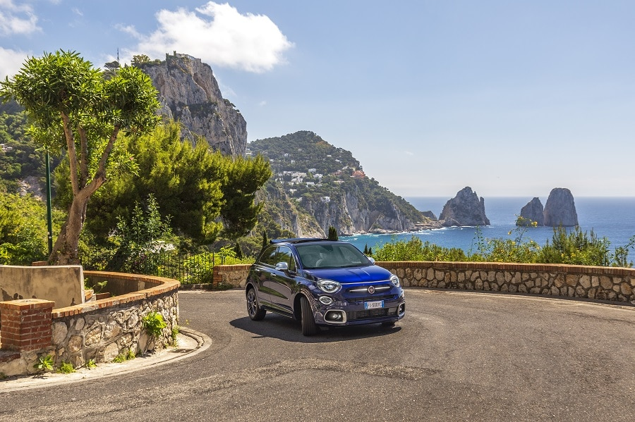 FIAT 500X Yachting frontale