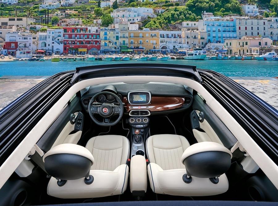 FIAT 500X Yachting interni
