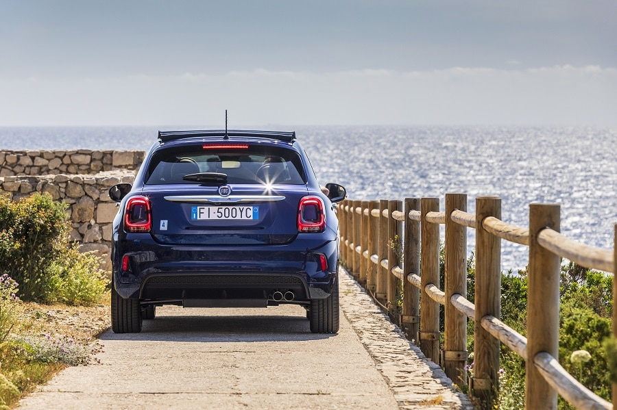 FIAT 500X Yachting posteriore