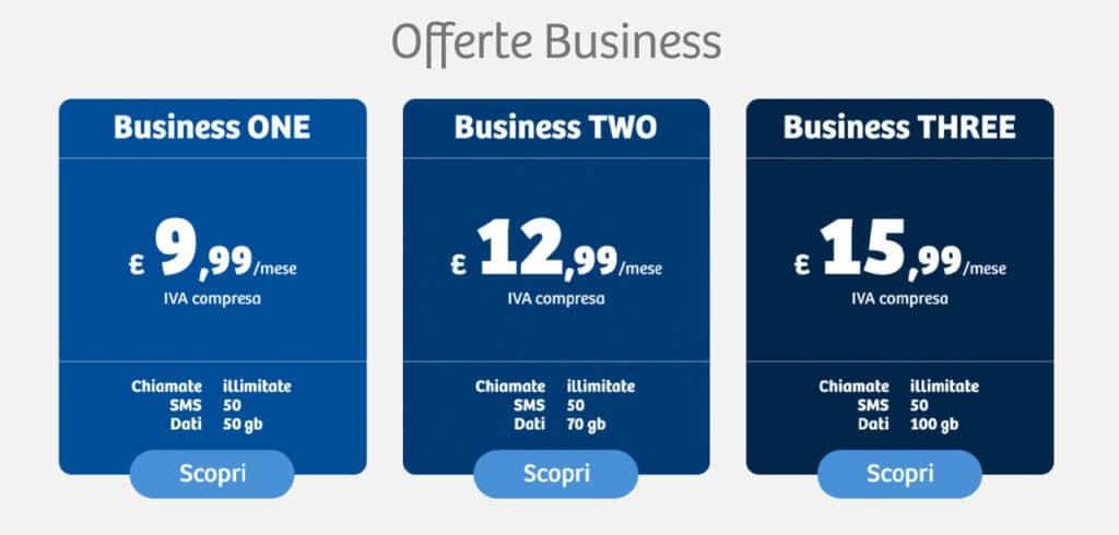 Feder Mobile tariffe - offerte business