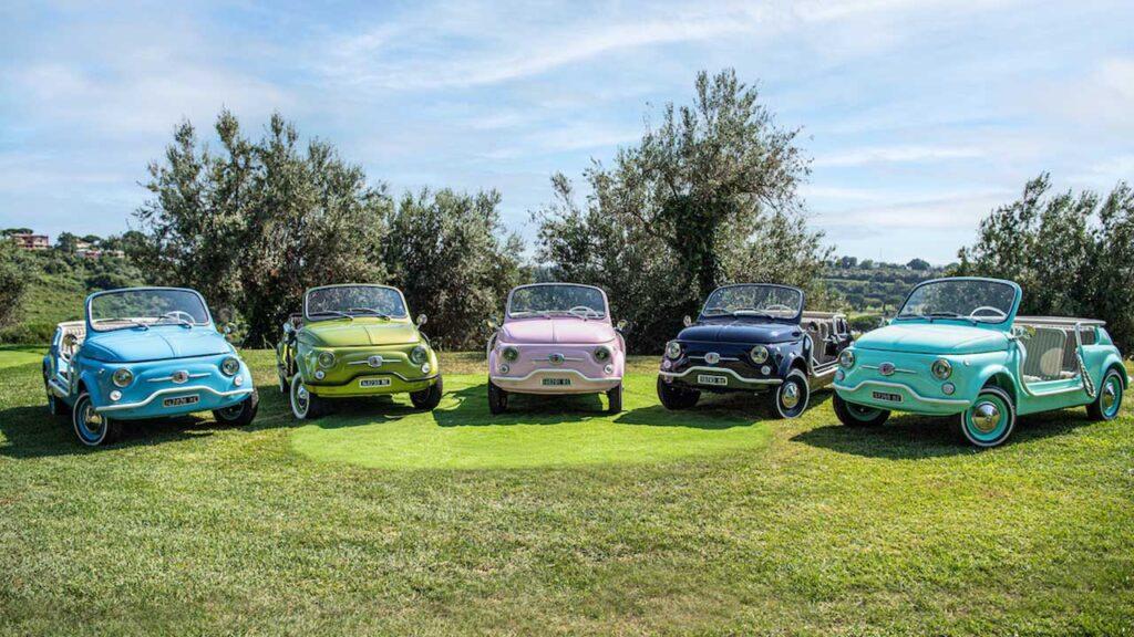 Fiat 500 spiaggina Hertz Italia