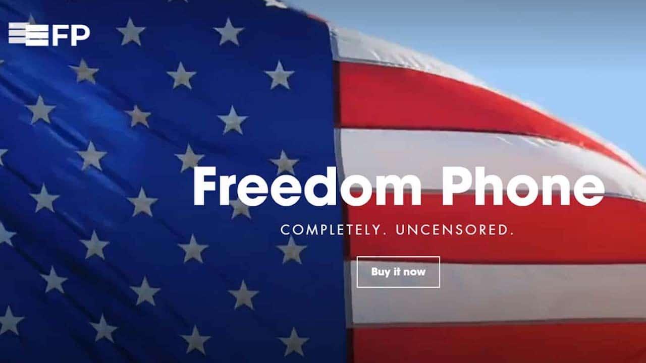 Freedom Phone, lo smartphone per i sostenitori di Trump thumbnail