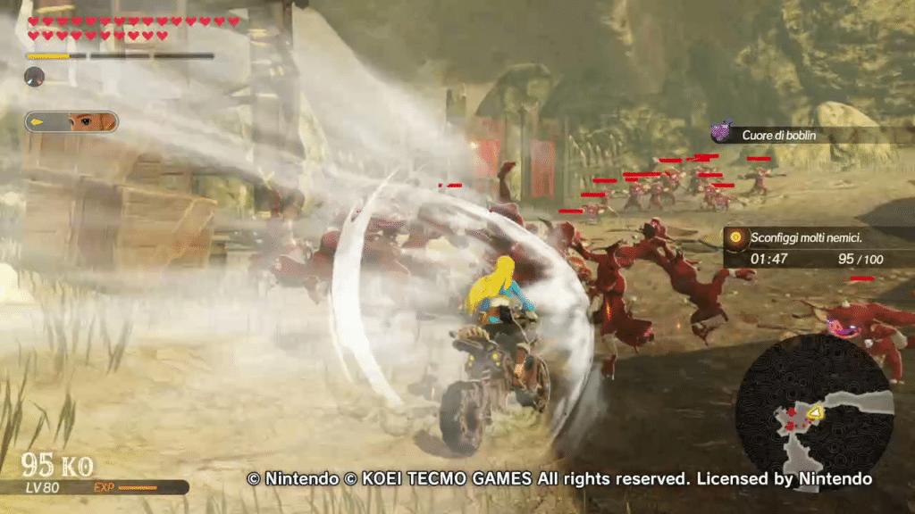 Hyrule Warriors Age of Calamity il battito ancentrale destriero 2