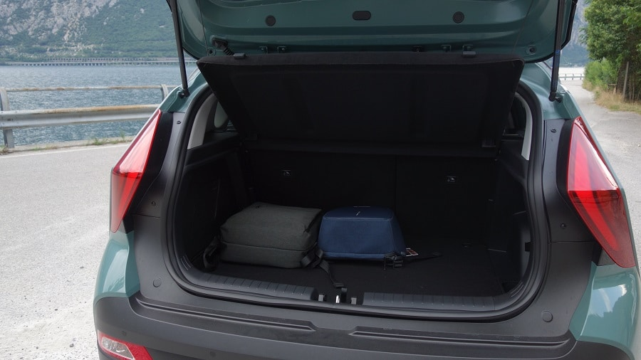 Hyundai Bayon bagagliaio