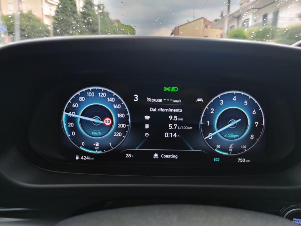Hyundai Bayon coasting