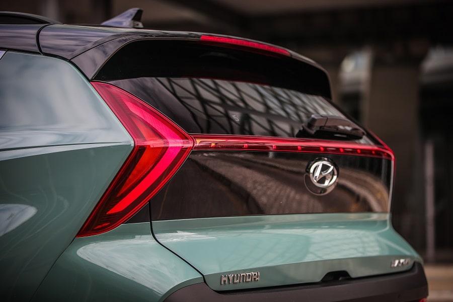 Hyundai Bayon posteriore1