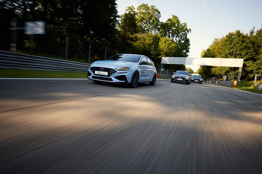 Hyundai Driving Experience frenata