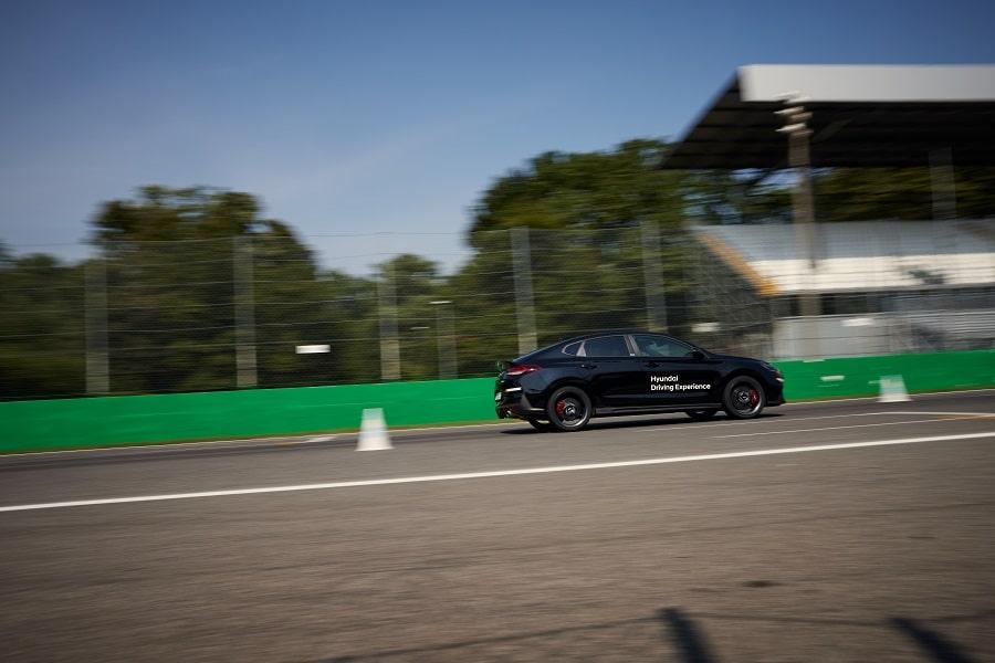 Hyundai Driving Experience hot lap