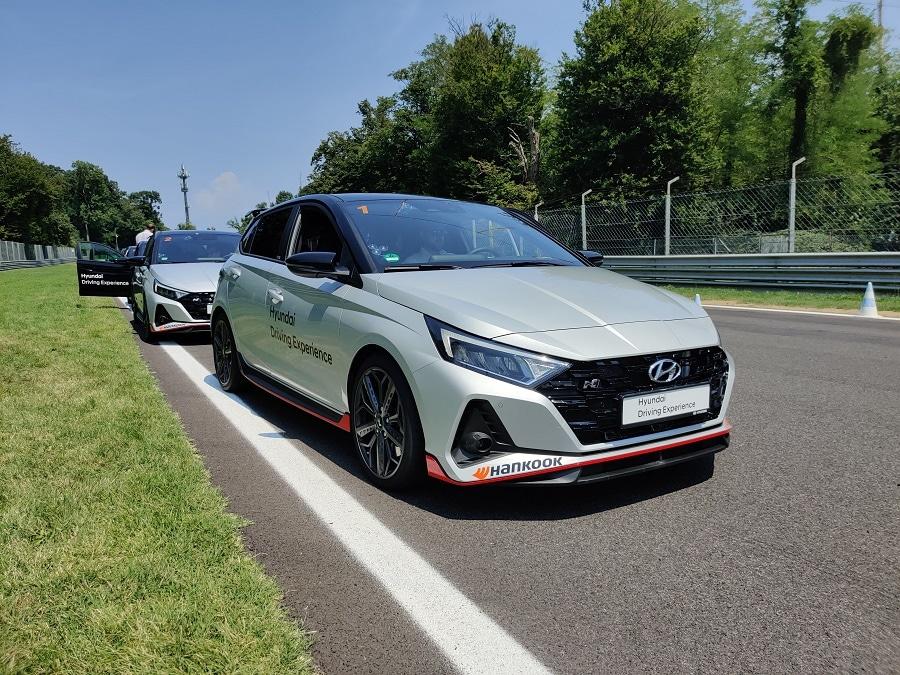 Hyundai Driving Experience i20N front