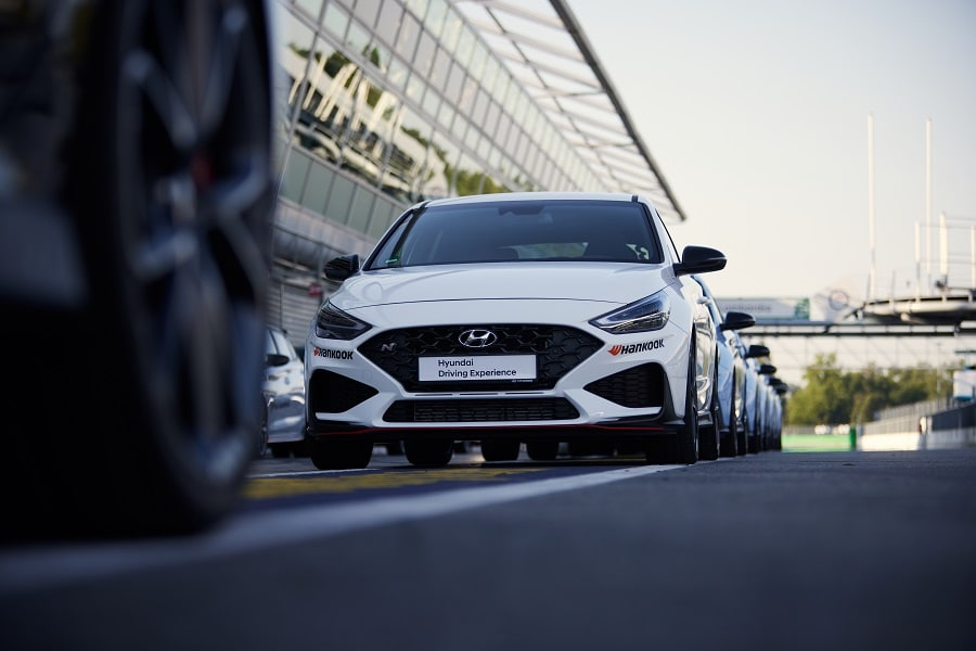 Hyundai Driving Experience i30n bianca