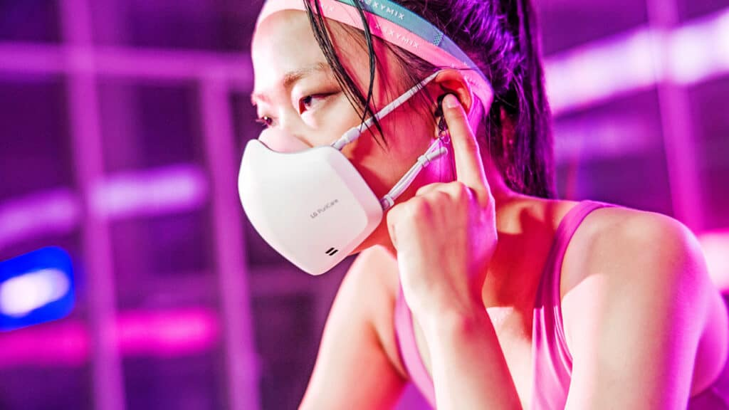 LG PuriCare mascherina seconda versione